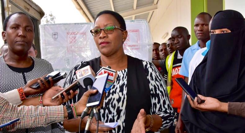 Health CS Sicily Kariuki announces government has launched chemotherapy treatment in 7 counties following public outcry on cancer in Kenya