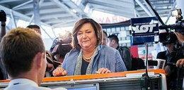 Ale odlot Komorowskiej! Pierwsza dama w dziewiczym rejsie
