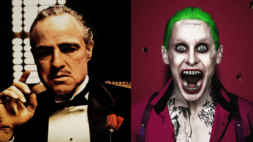 "Postere oficiale ""The Godfather"" / ""Suicide Squad"""