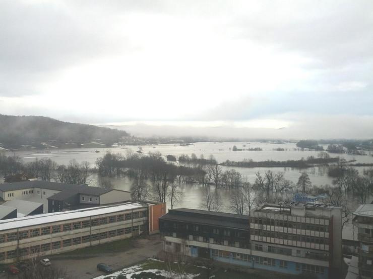 Novi Grad poplave reka Sana