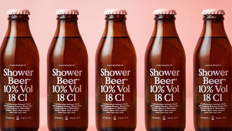 Now there's a beer meant solely for drinking in the shower