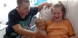 Ciężarna Paulina po wylewie wraca do zdrowia