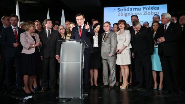 Konwencja Solidarnej Polski. Fot. PAP/Rafał Guz