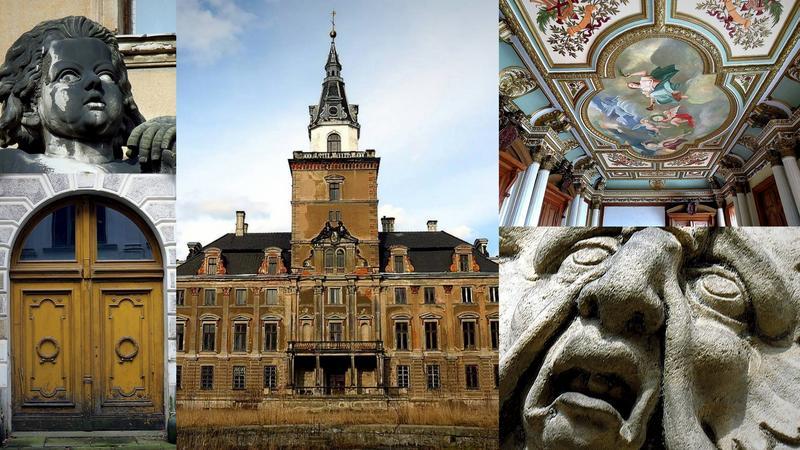 Pałac Hochbergów w Roztoce (Rohnstock)