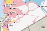 Sirija, mapa