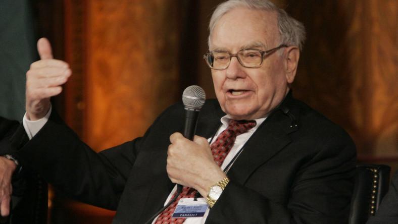 Buffet: Wall Street to kościół grający w kasynie