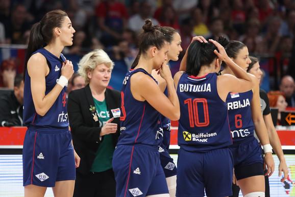 Ženska košarkaška reprezentacija Srbije letos na Evropskom prvenstvu u našoj zemlji
