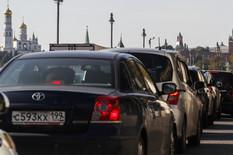 Moskva, Rusija, gužve, saobraćaj