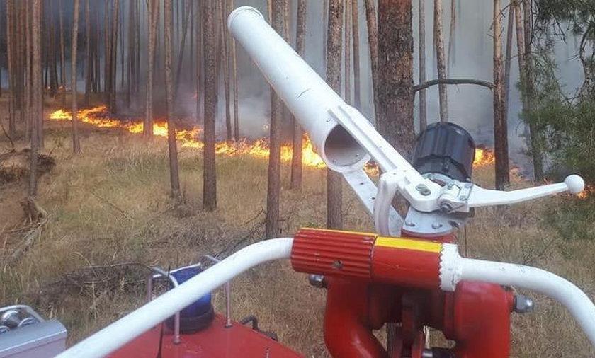 Niemcy, pożar