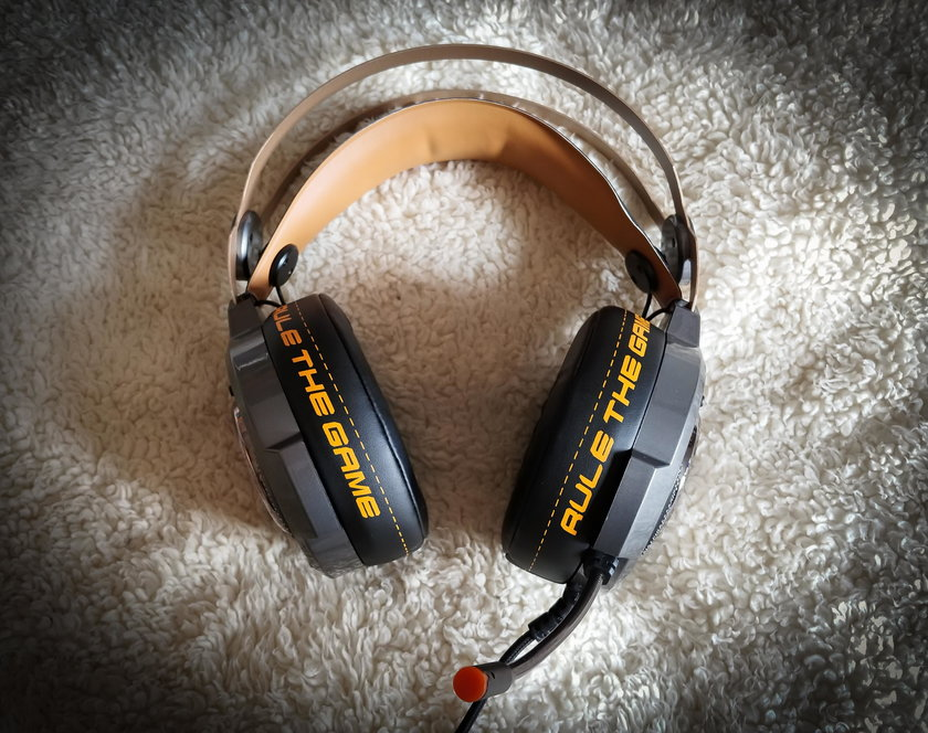 Test słuchawek dla graczy Hiro Gamma