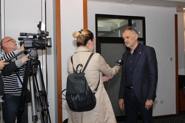 Zoran Gajić, predsednik Odbojkaškog saveza Srbije