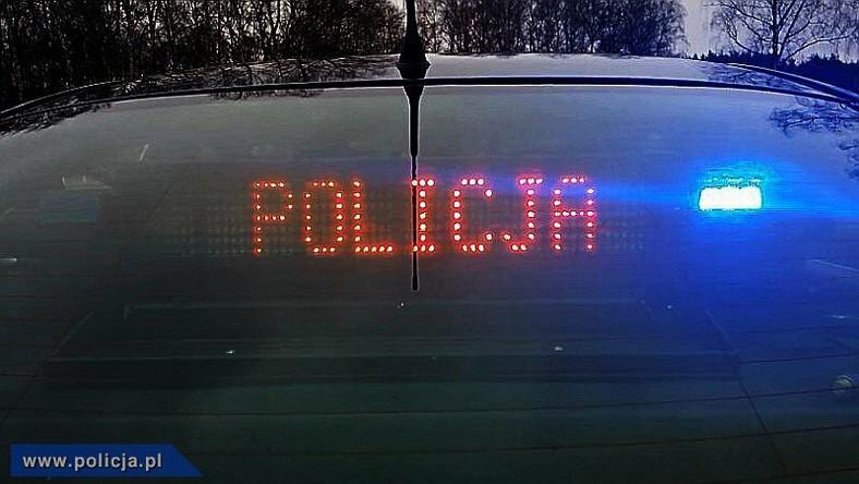 Pościg w Lublinie. Pijany kierowca chciał rozjechać policjanta