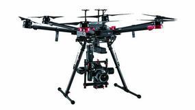 DJI M600 Pro - dron z aparatem Hasselblad o matrycy 100 Mpix