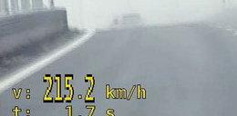 Pędziła na ekspresówce ponad 200 km/h
