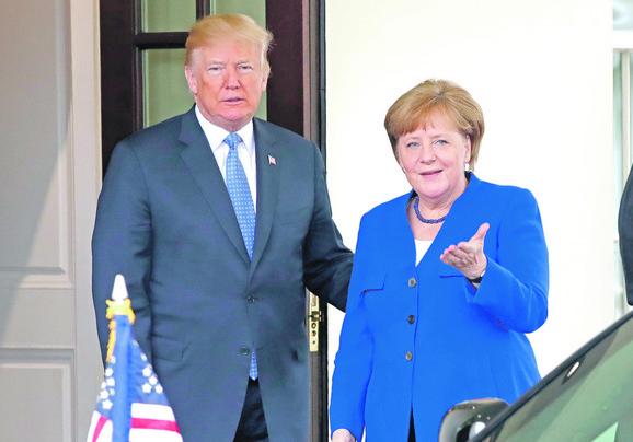 Razgraničenje je bilo tema i telefonskog razgovora Donalda Trampa i Angele Merkel