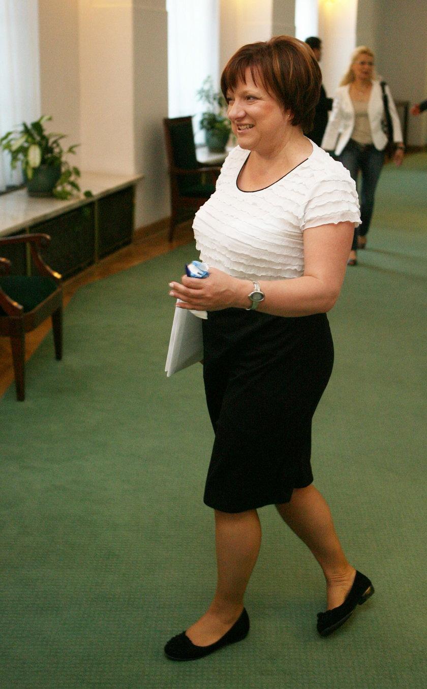 Beata Kempa lubi podkreślać swój duży biust