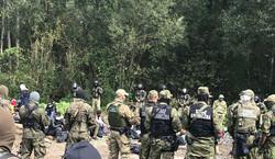Tak zagraniczne media pokazują sytuację na granicy z Białorusią. ZOBACZ NAGRANIA