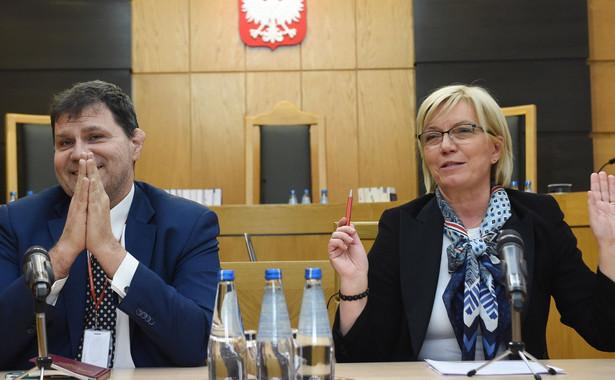 Mariusz Muszyński i Julia Przyłębska
