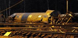Wykoleił się pociąg na Wolinie