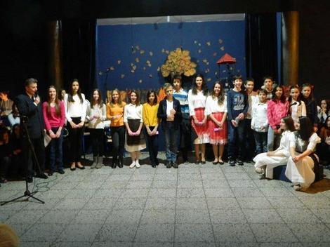 """Učenici briljirali na priredbi posvećenoj rođendanu Osnovne škole """"Karađorđu"""""""