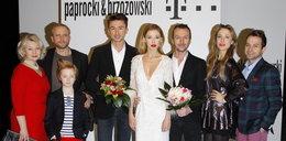 Gwiazdy na pokazie kolekcji Paprocki i Brzozowski