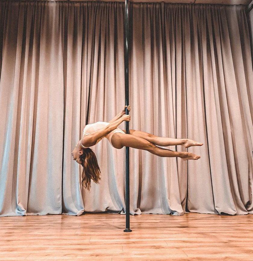 Anna Wendzikowska, taniec, rura, taniec na rurze