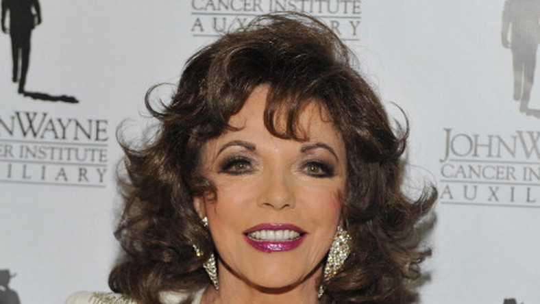 Joan Collins/ fot. Getty Images