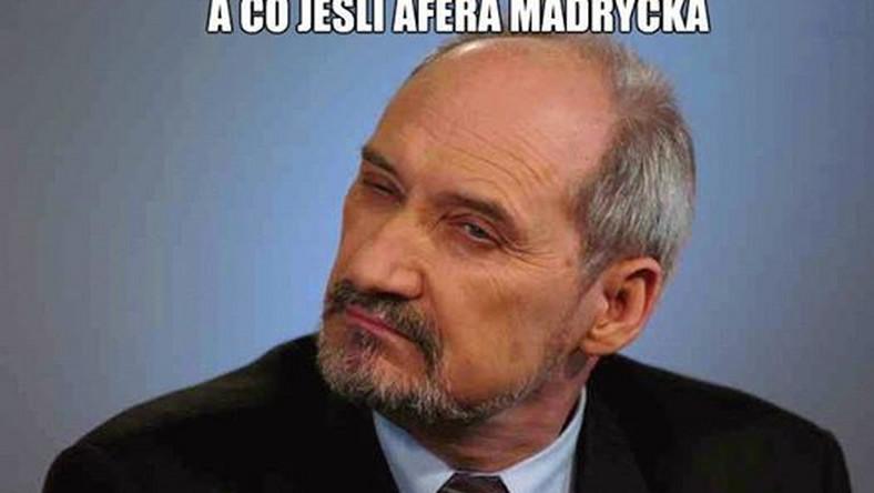 Aferze madryckiej przyjrzy się prokuratura.Tymczasem Antoni Macierewicz ma swoją teorię na ten temat.