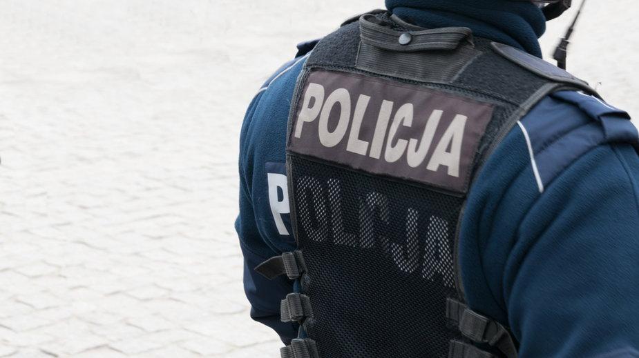 Policja w Głogowie starła się z protestującymi przeciwko obostrzeniom