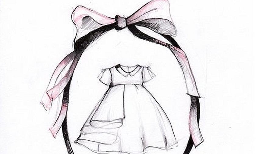 la mania zaprojektowała sukienkę dla córeczki małgorzaty sochy
