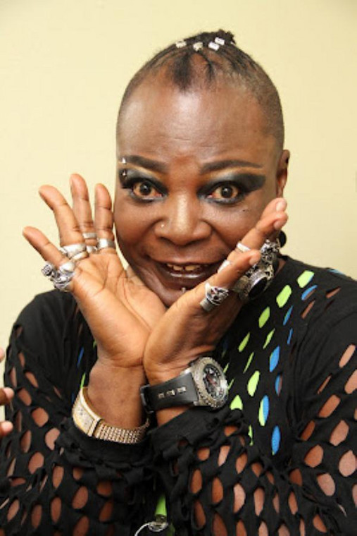 Charly Boy doing a pose