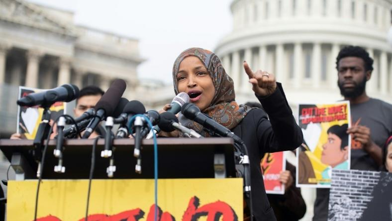 US House Democrat Ilhan Omar faces intensifying criticism after she tweeted on February 10, 2019 insinuating that US congressional support for Israel is fuled by funding from pro-Israel lobbying group AIPAC