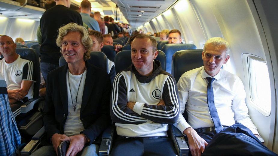 Dariusz Mioduski, Aleksandar Vuković, Jacek Magiera