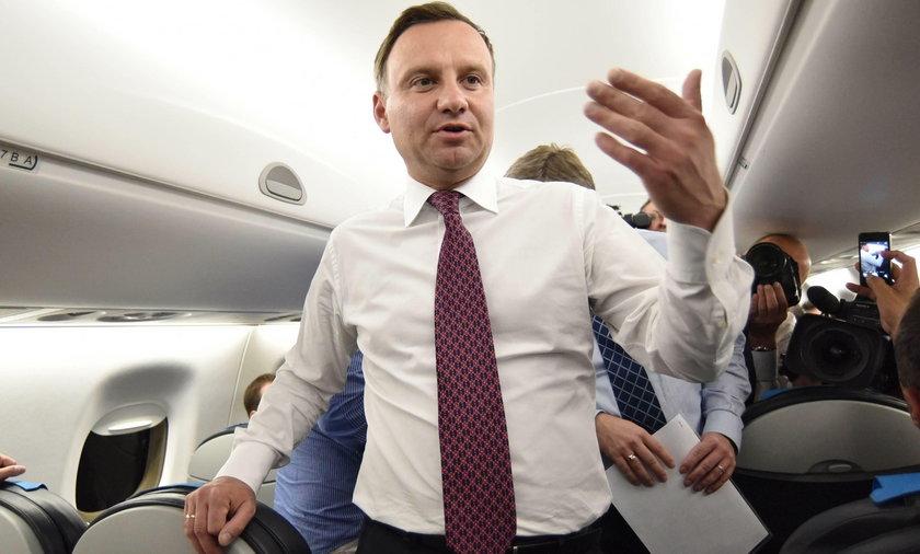 Andrzej Duda jako prezydent RP jest oskarżany o złamanie konstytucji