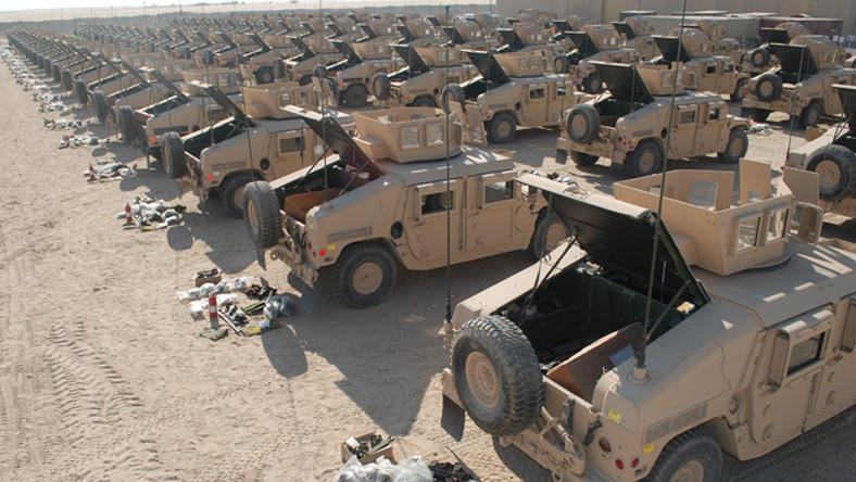 Baza wojskowa Sierra znajduje się w Kalifornii