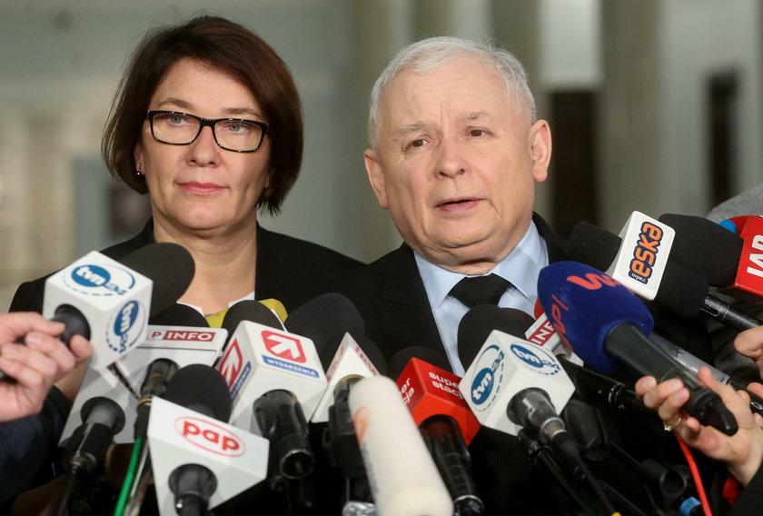 Jarosław Kaczyński nie mógł się powstrzymać?