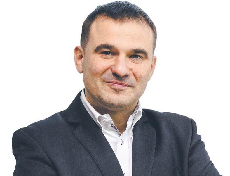 Paweł Szczepankowski, dyrektor zarządzający firmy Atradius w Polsce. Fot. Wojtek Górski