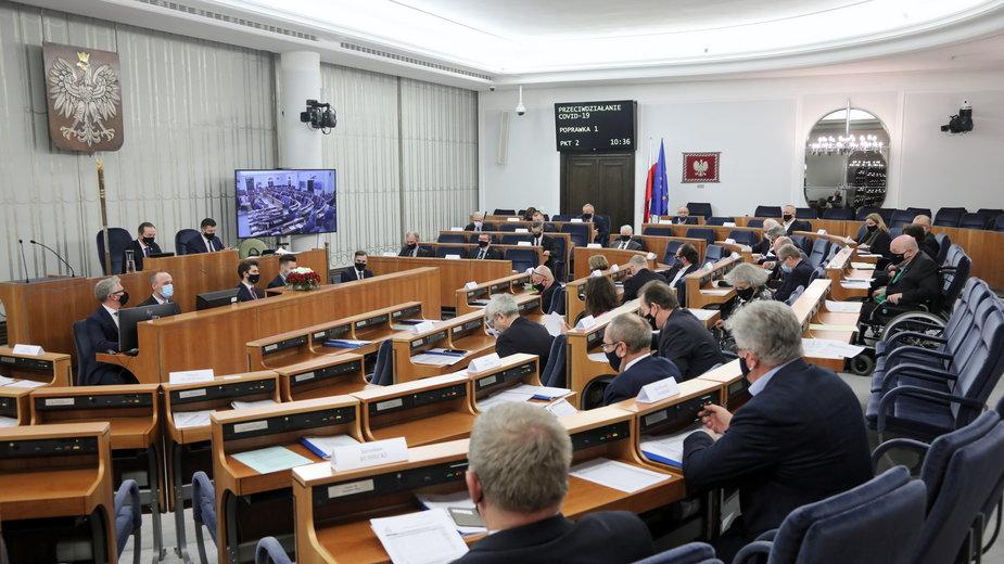 Obrady Senatu, 13.01.2021