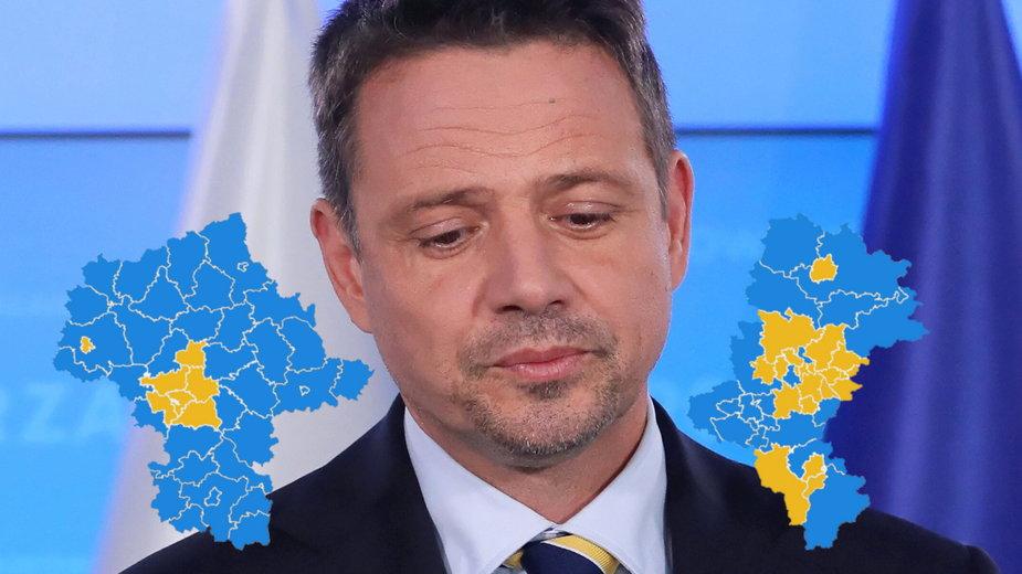 """Rafał Trzaskowski wygrał na Śląsku i w """"obwarzanku warszawskim"""""""