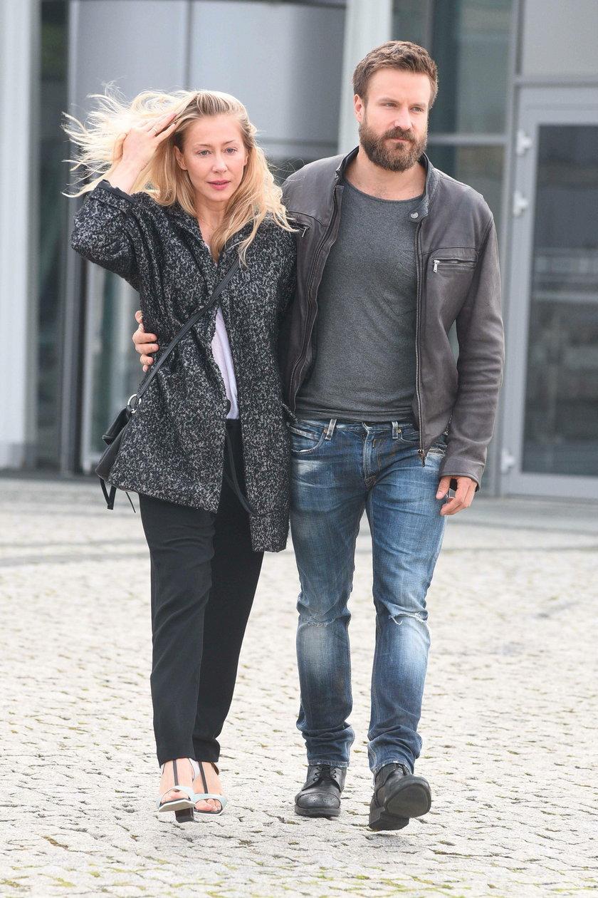 Katarzyna Warnke i Piotr Stramowski