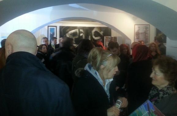 Galerija Singidunum vrvi od posetilaca i umetnika