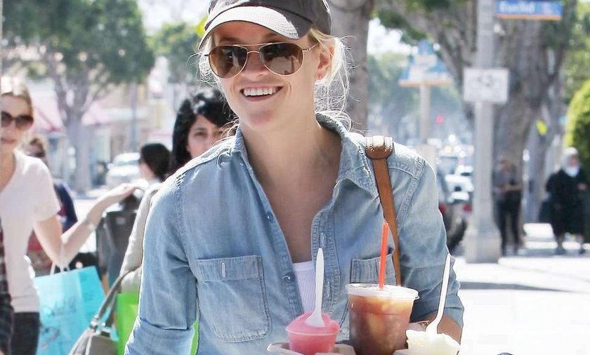Reese Witherspoon nie dba o linię