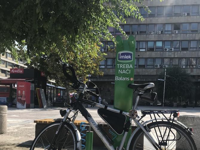 Balans+ samouslužne stanice za bicikle od sada i u Kruševcu:Imlek nastavlja društveno odgovornu akciju širom Srbije