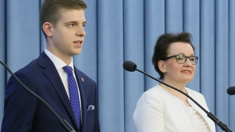 Pani minister była obecna podczas wczorajszej XXII Sesji Sejmu Dzieci i Młodzieży...
