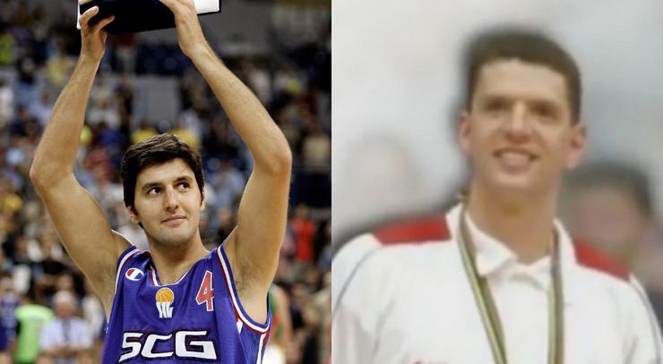 Dejan Bodiroga i Dražen Petrović