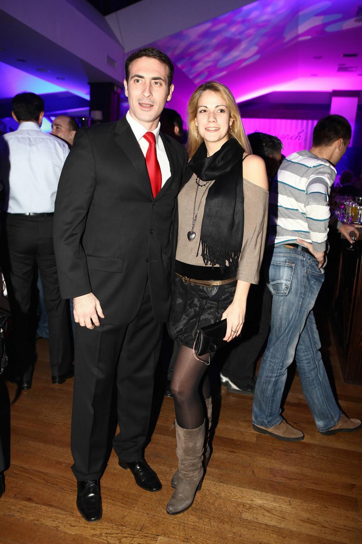 Slavko sa bivšom suprugom Ivom