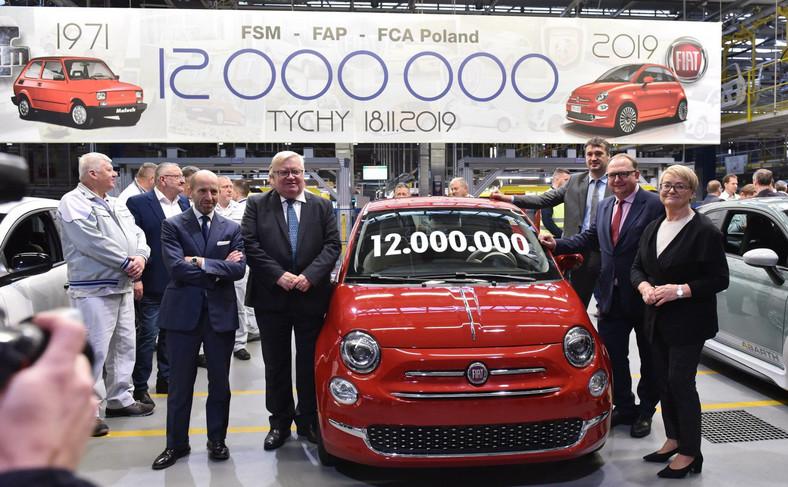 Fiat 500 od 2007 roku cieszy się ogromną popularnością