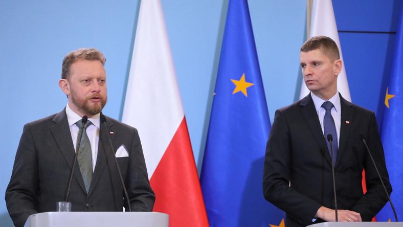 Dariusz Piontkowski i Łukasz Szumowski