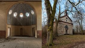 Opuszczony kościół ewangelicki w Starych Prażuchach koło Kalisza