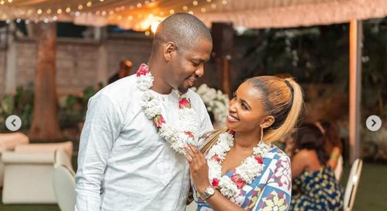 How Ben Pol's introduction to Anerlisa Muigai parents went down in photos
